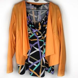 Ashley Stewart Blouse Jacket Combo 18/20